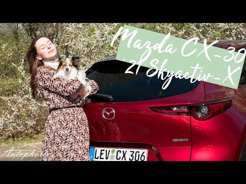 2021 Mazda CX-30 e-Skyactiv X 2.0 M Hybrid (186 PS / 240 Nm) Automatik Testfahrt [4K] - Autophorie