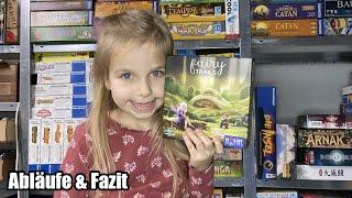 Fairy Trails (Huch!) - Das ist doch wie Carcassonne Junior! Selten müssen wir ein Spiel abbrechen!