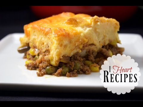 Dinner Recipes | Homemade Shepherds Pie – easy recipe with tasty beef & chicken – I Heart Recipes