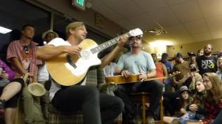 Your Love is a Song, Your Love is Strong - Jon Foreman Aftershow @ Red Rocks