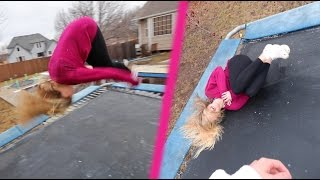 TEACHING MY GIRLFRIEND HOW TO FLIP! (EPIC FAIL)