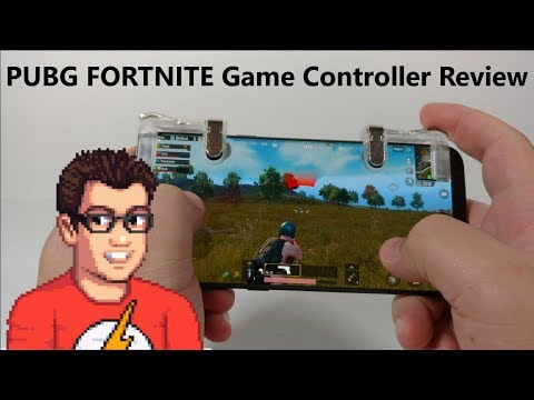 PUBG / FORTNITE Mobile game controller Review – Add Shoulder Buttons To Your Phone