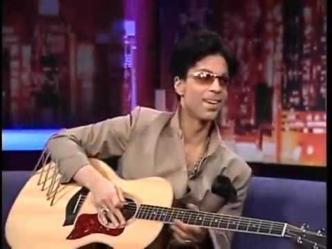 Prince Play Guitar for Maria Bartiromo CNBC 2004