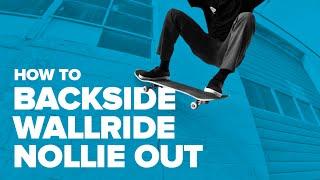 Смотреть онлайн BS Wallride Nollie Out, скейтбординг
