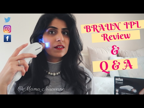 BRAUN IPL SILK EXPERT REVIEW + Q & A