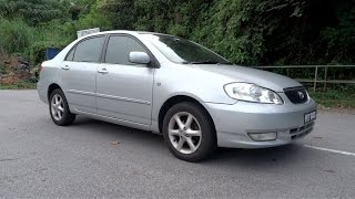 2001 Toyota Corolla Altis 1.8 G Start-Up And Full Vehicle Tour