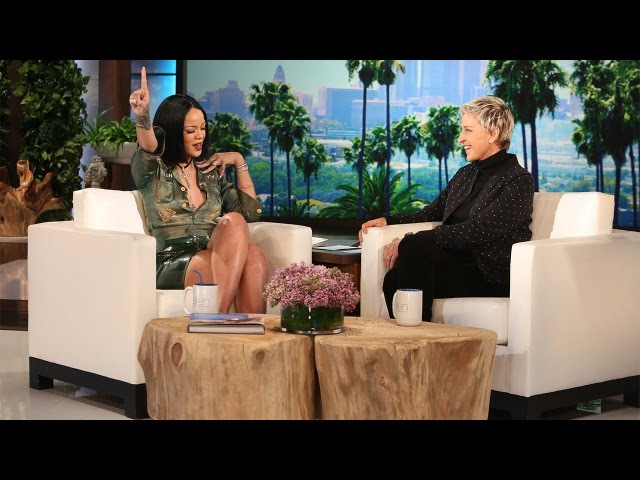 Videouttalande av Rihanna Engelska
