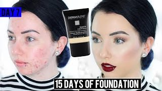 DERMABLEND SMOOTH LIQUID CAMO FOUNDATION Acne/Pale Skin {First Impression} 15 DAYS OF FOUNDATION