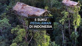 5 Suku Pedalaman di Indonesia yang Jauh dari Peradaban dan Teknologi, Ada yang Tinggal di Atas Pohon
