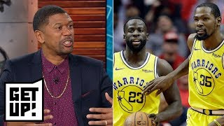 This is likely Draymond Green and Kevin Durant's last year as teammates - Jalen Rose | Get Up!