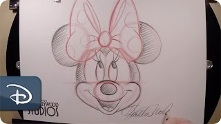 How-To Draw Minnie Mouse | Disneys Hollywood Studios
