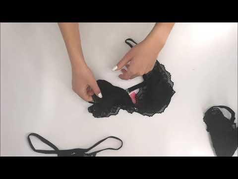 Smyslný set Arisha set with garter belt - Obsessive