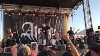 Atreyu - You Give Love A Bad Name live (Bon Jovi Cover | Glendale, Arizona | BrUfest | Fear Farm