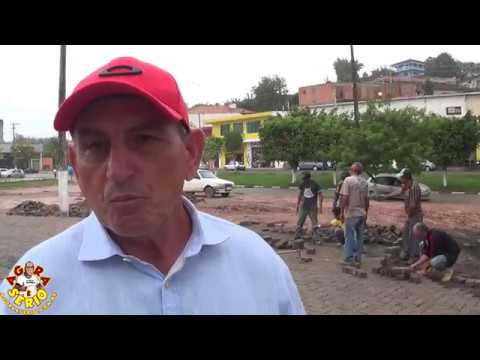 Prefeito Ayres Scorsatto fala sobre a inauguração da Praça de Eventos de Juquitiba