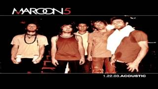 Maroon 5 - She Will Be Loved (Live - Acoustic Version)【HQ】