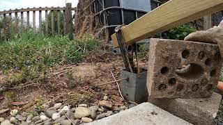 Ausprobiert: Bodeneinschlaghülse entfernen - Pfostenhalter herausziehen mit Hebel