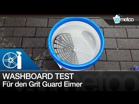 Grit Guard Washboard Test und Deckel für den Wascheimer   83metoo