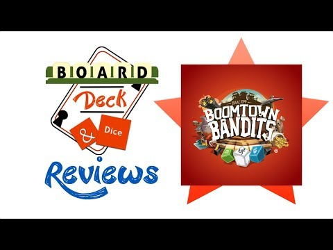 Board, Deck and Dice Review #121 - Boomtown Bandits
