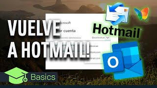 VUELVE A HOTMAIL y PASA DE OUTLOOK