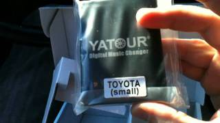 Part 1: How to connect USB SD Adapter MP3 YATOUR Changer Toyota T22 Avensis Auris Camry - Russian