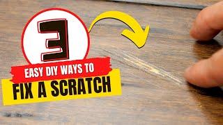 How to Fix Hardwood Floor Scratches