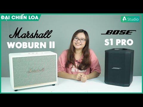 [Đại Chiến Loa] Marshall Woburn 2 vs Bose S1 Pro| Con nào hơn ????