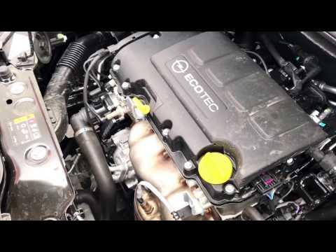 PKW Öl Stand messen Motoröl prüfen und nachfüllen Opel Corsa E Anleitung