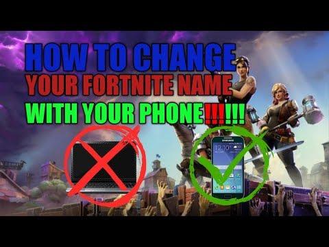 change fortnite name