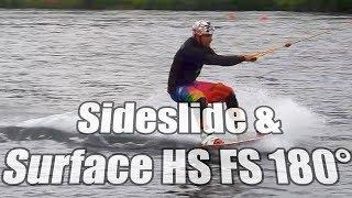 #5 Cablepark Wakeboard Begginer – Sideslide & surface HS FS 180