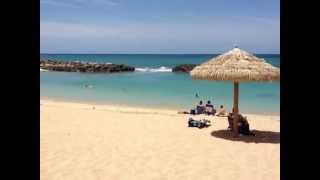 preview picture of video 'Honu (Turtle) Lagoon 2 at the Ko Olina Resort'
