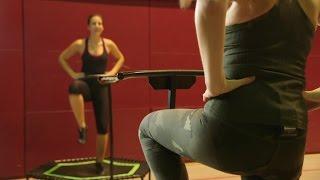 Trampolin-Workout: Das Wohl Schweißtreibendste Training überhaupt