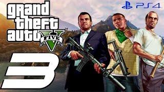 Grand Theft Auto V PS4 - Walkthrough Part 3 - Saving Jimmy & Wife Caught Cheating