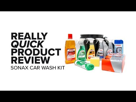 The Ultimate Sonax Car Wash Kit – Really Quick Product Review