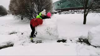 Снежная битва в стиле ПРАНК, снежки и отдых для души!😄