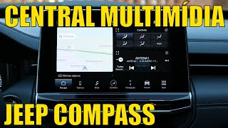 Central Multimídia - Jeep Compass 2022