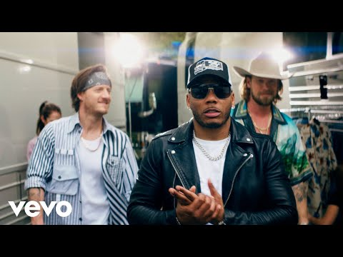 Nelly se unio a Florida Georgia Line para el video musical Lil Bit