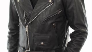 B7090 Xelement 'Premium' Men's Black Leather Jacket at LeatherUp.com