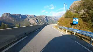 Road trip to Lysebotn to fly some FPV mountain surfing.