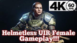 Gears of War 4 : Helmetless UIR Female Gameplay!!! [4K 60FPS]