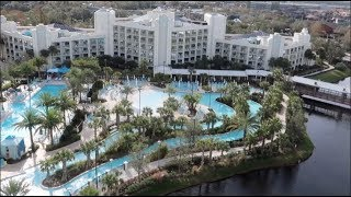 Hilton Orlando Buena Vista Palace - Room & Resort Tour - Disney Springs Resort