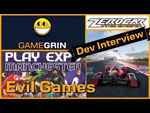 Zerocar - Evil Games Interview - PLAY Expo Manchester 2019