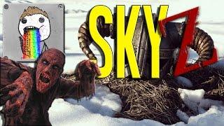 SkyZ   ULTIMATE HARDCORE PARKOUR - Ep. 19 - Season 7 - Skyrim Zombie Survival