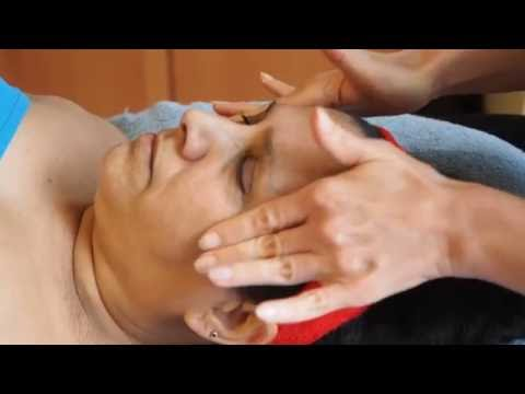 AYURVEDIC  KANSA FACE  MASSAGE