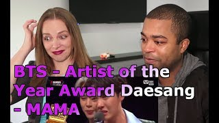 Artist of the Year Award 2018 - BTS (Asian Music Awards) (REACTION 🎵