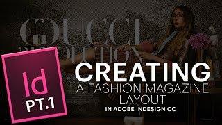 Creating Fashion Magazine Layout: Part 1: Adding Images