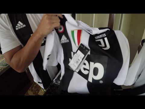 Authentic Juventus Jersey Order unboxing from Juventus Store (Turin)