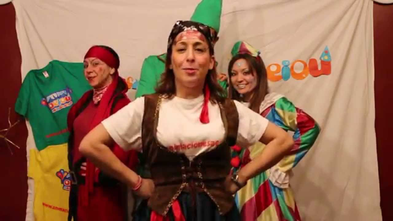 Cantajuego: Soy una taza con Animaciones Aeiou