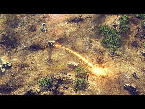 Iwo Jima 45 - US Marines Naval Landings & Invasion Force | Sudden Strike 4 Pacific War DLC Gameplay