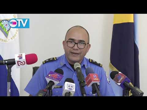 Policía Nacional presenta a sujeto que secuestró e intentó quitar la vida a su hijo en Chontales