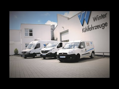 Winter Kühlfahrzeuge Image-Video